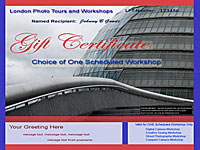photography gift certificates londonphototours